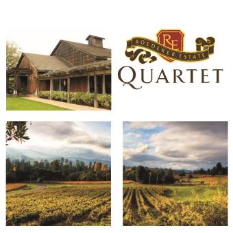 Roederer Quartet, Anderson Valley California